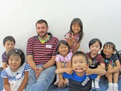 子供英会話ショートステイ(夏期集中講座)2015 JR津田沼校1